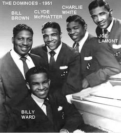 The Dominoes. 1951