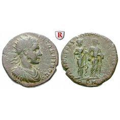 NEW  Römische Provinzialprägungen, Thrakien-Donaugebiet, Nikopolis am Istros, Elagabal, Bronze, ss: Thrakien-Donaugebiet, Nikopolis… #coins