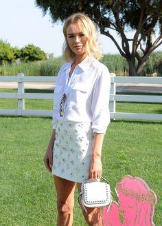 Kate Bosworth - Coach Backstage At Soho Desert House