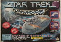 Star Trek Transwarping Starship USS Enterprise Collectors Edition :StockNo:16077 43377160779 | eBay Uss Enterprise, Kids Gift Bags, Eaglemoss Star Trek, Star Trek Action Figures, Botany Bay, Star Trek Starships, Star Trek Voyager, Firefly Serenity, Stargate Atlantis