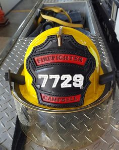 Firefighter Helmet Shield hand crafted custom Fire Helmet