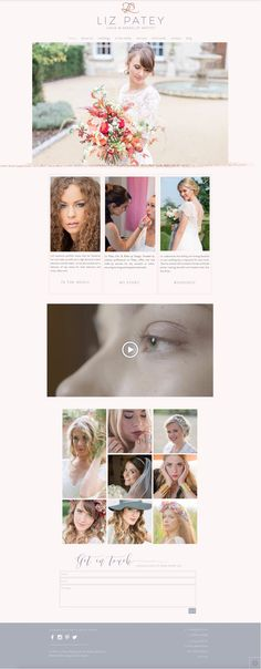 Stunning new Studio Spence website for fabulous makeup artist Liz Patey online today.  Please take a look around www.lizpateymakeup.co.uk