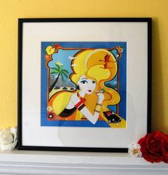 'baby jane in acapulco' limited edition print by vickysworld | notonthehighstreet.com