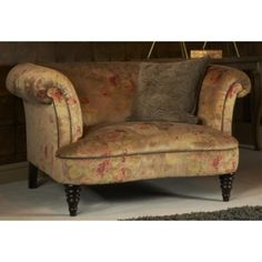 Parker Knoll Isabelle Fabric Snuggler Chair
