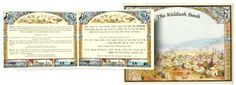 """Hebrew/English Zemiros.  Beautiful Cover with  Jerusalem Panoramah. It as beautiful English translation with an explanation and the name from the composer for every song. Includes Birchat Hamazon, Sheva Brochos, Kiddush,  Zemirot Shabbat, Chagim and more. 6 1/2"""" x 4 1/2"""" - 124 Pages"""