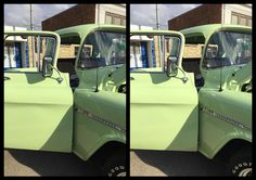 A 1955 Chevy - 3D Stereoscopic Photography.