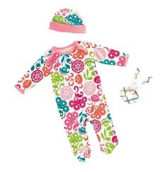 Vera-Bradley-3pc-Layette-Set-Baby-Girl-Lola-3-6-months-Crib-Gift-Box