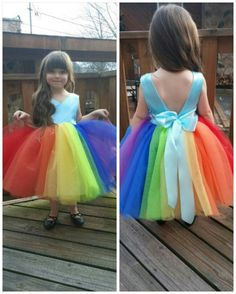 #Rainbowdash dress...Coming soon to JuliaInspires.Etsy.com Perfect for a My Little Pony themed party.