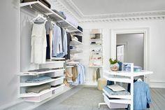 Inloopkast Van Elfa : 19 best walk in closet images on pinterest walk in wardrobe design