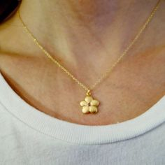 Fraise Des Boise Pendant ❁ Tell is how you would wear this gorgeous gold necklace! @LiliKleinJewelry