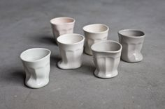 melting little cups. cute!