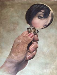 .: #EduCardoso questiona as #memóriasdigitais com #pinturasrealistas