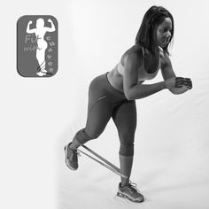 Glute Kick backs with GoFit Power Loop bands can be purchase from my website. Try 3 sets of 20 each side contracting your glutes with every movement Fitness Goals, Fitness Motivation, Health Fitness, Resistance Band Exercises, Resistance Loops, Gym Workouts, Band Workouts, Functional Training, Gym Humor