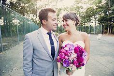Wedding Dress: Wedding Atelier - http://www.stylemepretty.com/portfolio/wedding-atelier Photography: Khaki Bedford Photography - http://www.stylemepretty.com/portfolio/khaki-bedford-photography   Read More on SMP: http://www.stylemepretty.com/2014/05/19/nautical-long-island-wedding/