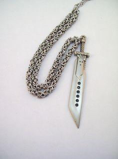 Buster Sword necklace! Final Fantasy VII