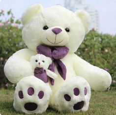 Compare prices on teddy bear purple- online shopping/buy low Cute Teddy Bear Pics, Teddy Bear Images, Big Teddy, Teddy Bear Pictures, My Teddy Bear, Purple Teddy Bear, Purple Online Shopping, Teady Bear, Animal Hugs