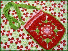 GotikART - GrannySquare-Kindertasche/Brustbeutel von Gedenkemein auf DaWanda.com