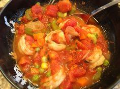 Vegetable Shrimp Soup