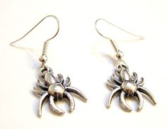 Spider Earrings - part of our Hallowe'en range.  They're scarily good!