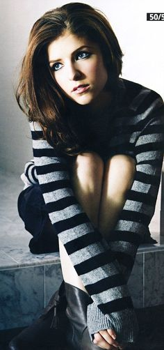 Enjoy looking through the photos of Anna Kendrick, hot and sexy american actress.