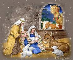 البوم صور ميلاد السيد المسيح متحركة . - مدونة رئيس الملائكة روفائيل