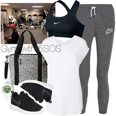 How To Wear Gym with 5SOS Outfit Idea 2017 - Fashion Trends Ready To Wear For Plus Size, Curvy Women Over 20, 30, 40, 50
