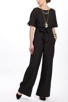 Anthropologie Cosmos Jumpsuit - Lyst