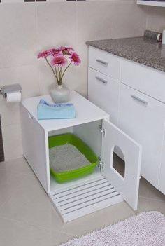 Cat Litter Cupboard