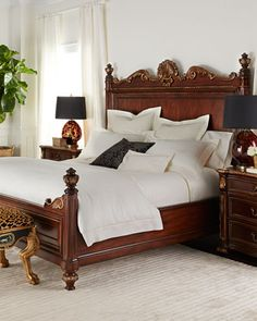 Exotic King Size Bed  Wood Beds Wood Bedroom Sets And King Size Beauteous Exotic Bedroom Sets Inspiration Design