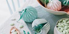 DIY: des ballotins en origami pour des dragées de mariage