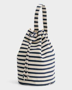 Baggu – canvas sling bag – sailor stripe