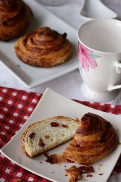 Two kinds of danish rolls -- sweet & savory | The Fresh Loaf