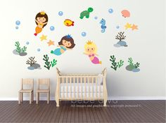 Wall Decals Nursery, Kids Wall Decals, Nursery Wall Decals - A great addition to any child's bedroom, play room, or nursery.  ♥ Simply peel and stick - no fussy application ♥…