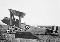 Martinsyde G.102 Elephant single-seat fighter biplane. Serial number A6286. Named aircraft 'Rhodesia III'.