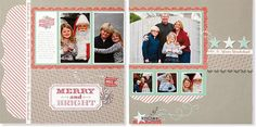 A step-by-step workshop to complete this scrapbook layout, including materials and instructional guide. Workshops on the Go® Sparkle & Shine scrapbooking kit (G1071) from Close To My Heart.
