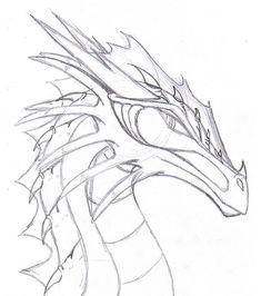 realistic dragon drawings - Google Search
