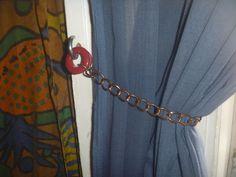 Curtain Tie Backs, Magpie, Poet, Etsy Shop, Curtains, Crafty, Green, Vintage, Decor