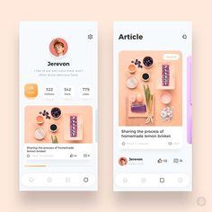 Gourmet Interface 03 by 𝙟𝙚𝙧𝙚𝙫𝙤𝙣 ✨ Get Inspired daily! - Expolore the best and the special ideas about Mobile design Ui Design Mobile, App Ui Design, User Interface Design, Interface App, Dashboard Design, Design Design, App Design Inspiration, Conception D'applications, Card Ui
