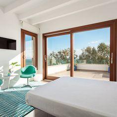Grades ventanales en el dormitorio #habitación #cama