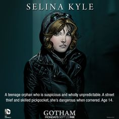 Selina Kyle #Gotham