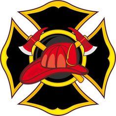 x Fireman Emblem Sticker Vinyl Vehicle Decal Firefighter Stickers Car Decals, Bumper Stickers, Sticker Vinyl, Painted Jars, Painted Rocks, Firefighter Cross, Volunteer Firefighter, Firefighter Stickers, Fire Helmet