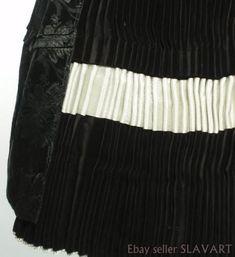 VINTAGE Traditional Slovak Folk Costume black velvet skirt jacket brocade apron Folk Costume, Costumes, Velvet Skirt, Ethnic Fashion, Black Velvet, Apron, Traditional, Skirts, Jackets
