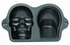 Nonstick 3D Skull Pan. More likely to use for my husband's birthday than Halloween.
