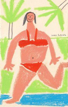Verano | Ilustración de Inma Lorente | Flecha