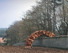 Arc à Goodwood (2002) by Andy Goldsworthy