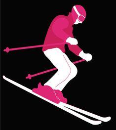 Skier by Bird