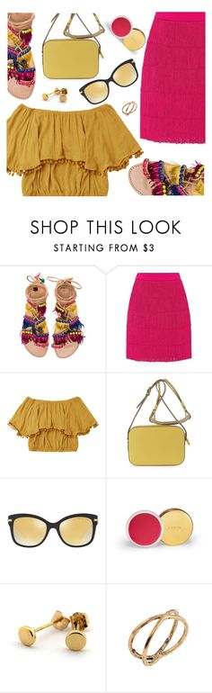 """""""Hot Brights"""" by deeyanago ❤ liked on Polyvore featuring Elina Linardaki and STELLA McCARTNEY"""