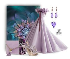 """Lavender Elegance Fractal"" by kashmier ❤ liked on Polyvore featuring Henri Bendel, Nicholas Kirkwood, Belk & Co., Sevil Designs, iphone, polyfriends and leatherwooddesign"