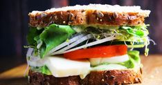 It's a known fact that breakfast is the important meal of the day. Make your mornings more brighter by trying out these 15 easy vegetarian breakfast recipes Veggie Sandwich, Best Sandwich, Vegetarian Breakfast Recipes, Chef Recipes, Recipies, Recipe Of The Day, Sandwiches, Veggies, Meals