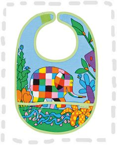 Elmer bib £4.50 from Petit Jour